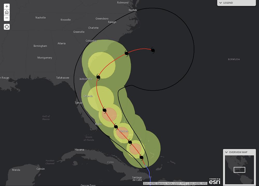 Tropical Forecast NHC