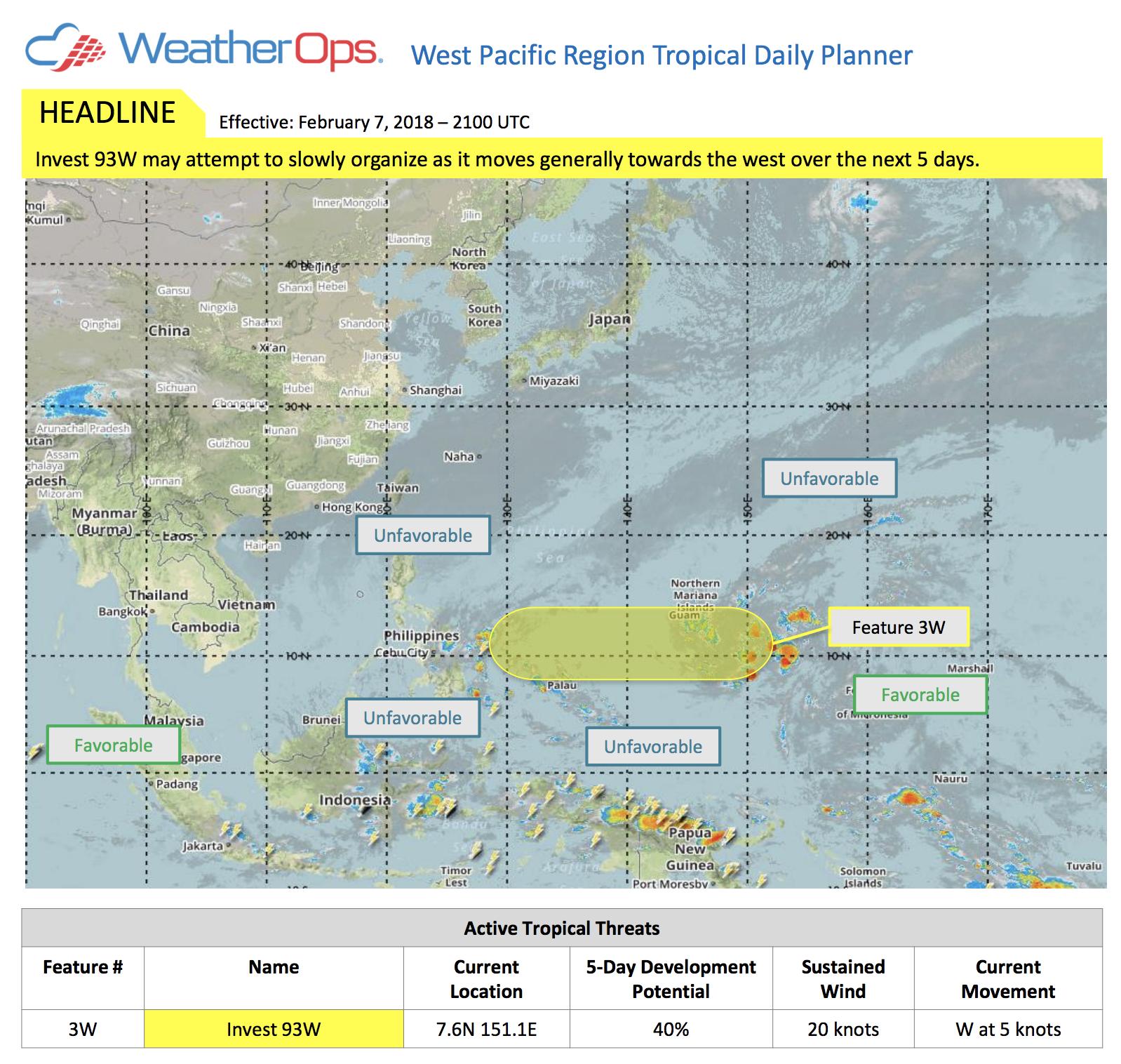Tropical Planner Feb 7