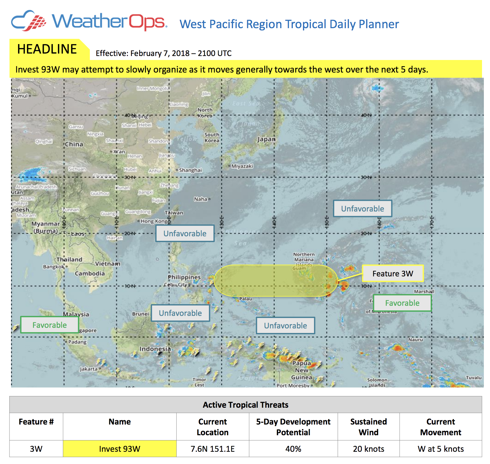 Tropical Planner Feb 7